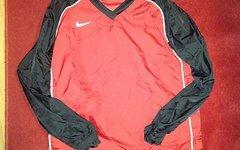 Nike Regen-, Allwetter - Trikot, Gr. L, rot-schwarz