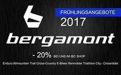 Bergamont IBC Spring-Aktion -20% auf lagernde 17er Modelle