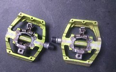 Ht Components DH Race X2 Green metallic