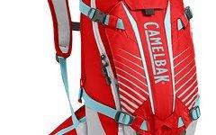 Camelbak Protektor-Rucksack KUDU 12 Fiery Red - Silver Modell 2016 NEU