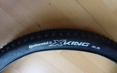"Continental X King 2.2 Racsport 29"", 500 Gramm (neu)"