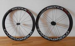 """Campagnolo Bora One 50, 28"""" Laufradsatz Schlauchreifen Carbon"""