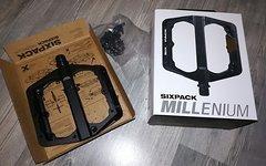 Sixpack Millennium stealth black Neu!