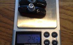 Carbon Bremsschuhe Mit Korkbremsbelägen Für Carbonfelgen 24,3G 4 Stück Carbon Bremsschuhe für Carbonfelgen 24.3g