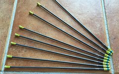 Mavic TraComp Carbon Speiche - gelbe Nippel 284mm, R-Sys, neu