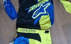 Alpinestars F-Lite Speedster Handschuhe, Acid Yellow / royal blue, Gr. L *NEU*