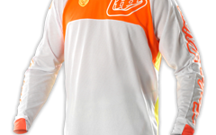 Troy Lee Designs SE Pro Jersey Trikot Corse White/Orange XL