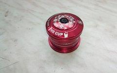 Sixpack The Cup Reduziersteuersatz 1.5 auf 1 1/8 Zoll in Rot