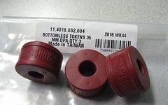 Rock Shox Bottomless Tokens 35mm DPA QTY 3
