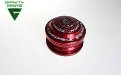 Token semi integrierter Steuersatz 1 1/8 Zoll ZS44 rot (industriekugelgelagert)