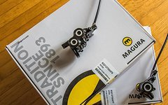 Magura MT5 / MT4 Carbotecture® v+h Scheibenbremsen Set
