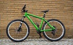 """Vortrieb Komplettbike Vortrieb Rahmen M 26"""" Hardtail 2x10"""