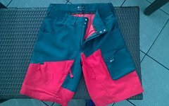 Local Outerwear FR/DH Shorts PARK Tomato Red/Deep Teal 2016 Gr. S