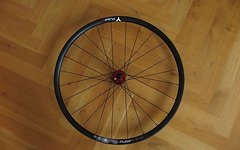 Ryde/tune/sapim LRS Ryde Pulse Comp Disc-Tune King,Kong rot-Sapim CX Ray