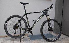 "Merida Big.Nine CF Team - RH: 23"" - Top Zustand - Carbon Mountainbike"