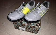 Five Ten Freerider VXi Elements, Solid Grey/Lime Punch !! NEU + OVP !!