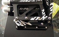 K-Pedc K-304 Plattform Pedal Schwarz Neu 360g!