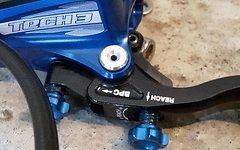 Hope Tech 3 X2 Vorderrad Bremse,blau,