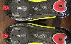 Sidi Wire Carbon Push Rennradschuhe Größe 42