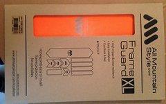 Ams All Mountain Style Frame Guard XL Rahmen Protektor Orange