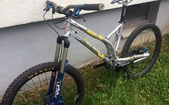 Ancillotti Tomaso FRP Enduro Bike, Tune, Renthal, Race Face, Maxxis Minion