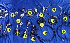Shimano Bremsbeläge Ice Tech F03C für XT, XTR, SLX,