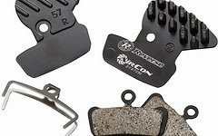 Reverse Components AirCon Brakepad System for Avid Trail + Guide , 4pc Set, Cool Fins and Brakepads organic