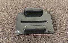 Gopro gebogene Klebehalterung, adhesiv mounts NEU
