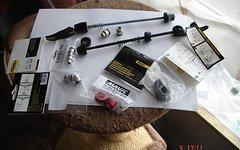 Mavic verschiedene adapter schnellspanner crossride/crossroc /crossmax xl /sx /elite