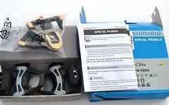 Shimano 105 SPD SL Rennpedal PD-5800  Pedale