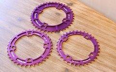 E*thirteen The Hive Guide Ring 34, 40T Purple *NEU*