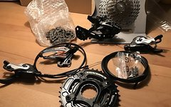 Shimano Shimano SLX / Race Face Turbine 2x10 Antriebsset
