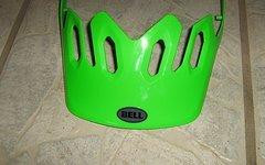 Bell Super Visier/Schirm in grün