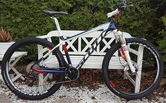 Scott Scale 710 2015 Custom Carbon XT 2/11 M