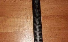 Bontrager Entlabelte Bontrager Carbon Sattelstütze, 27,2mm - 310mm