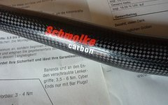 Schmolke Carbon MTB-Lowriser Downhill 31,7x690 mm 1K