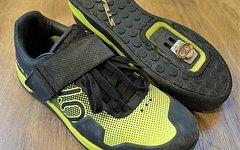 Five Ten Hellcat Pro Gr.45 semi solar yellow Downhill Clipless mit Crankbrother Cleats uvp.159 Euro