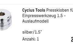 Cyclus Tools Steuersatzswerkzeug 1, 1 1/8 und 1.5 Zoll