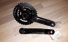 SRAM Truvativ 10speed GXP 2 fach Kurbel 36/22 in schwarz, Neu