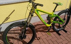 Ghost DH 7 LIMEGREEN GREEN 2015 GR.L