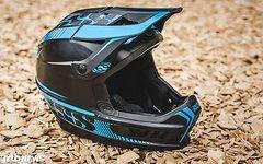 IXS XACT Helm blau/schwarz Größe M