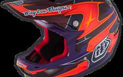 Troy Lee Designs D3 HELM Gr. S ( MIPS ) CARBON RENDER PURPLE