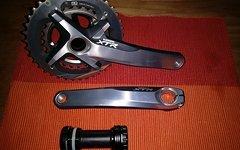 Shimano XTR-Kurbel 2-fach 38/26 FC-M980 mit Innerlager