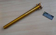 Kcnc Ti Pro Lite Sattelstütze Gold 30,9mm x 400mm