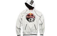 Red Bull Travis Pastrana Zip Hoody white Gr. L