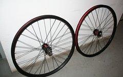 Fulcrum Red Heat LRS (110x20/150x12) gebraucht wie **NEU**