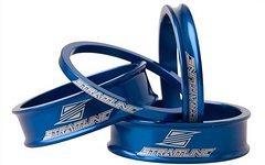 """Straitline Spacers-4 Pack Blau 1.5"""" 3,6,12,12 mm + Geschenkaufkleber"""