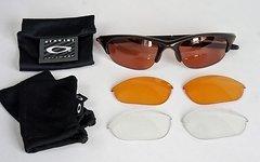 Oakley Radbrille Half Jacket - mit Wechselgläser - wie neu!