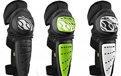 IXS Mallet Knee Guard schwarz & grün