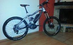 Haibike E-Bike Xduro NDURO Rx, 400Wh, 10-G XT, Größe S, Kauf vom 29.01.16, TOP